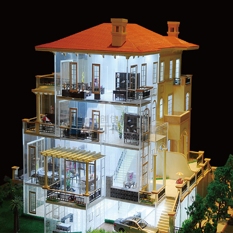 House and Interior Model 003